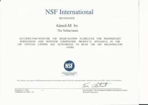 NSF General Certification 2012